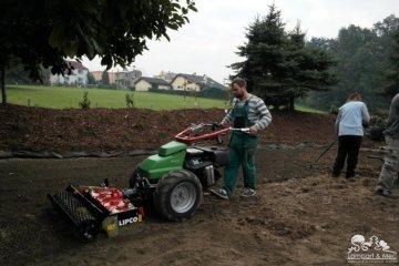 Zakládání travnatých ploch